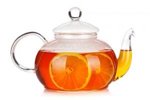 Kanne Schwarzer Tee