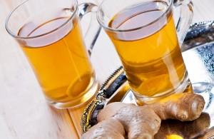 Ingwer Tee beugt Erkältung vor
