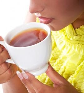Assam Tee genießen