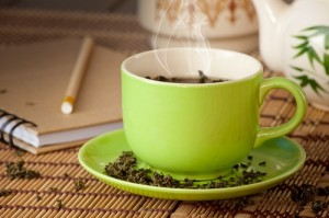Aromatischen Darjeeling Tee genießen