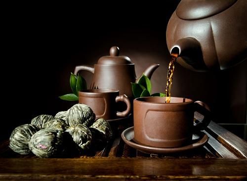 Grüner Mao Feng Tee aus China